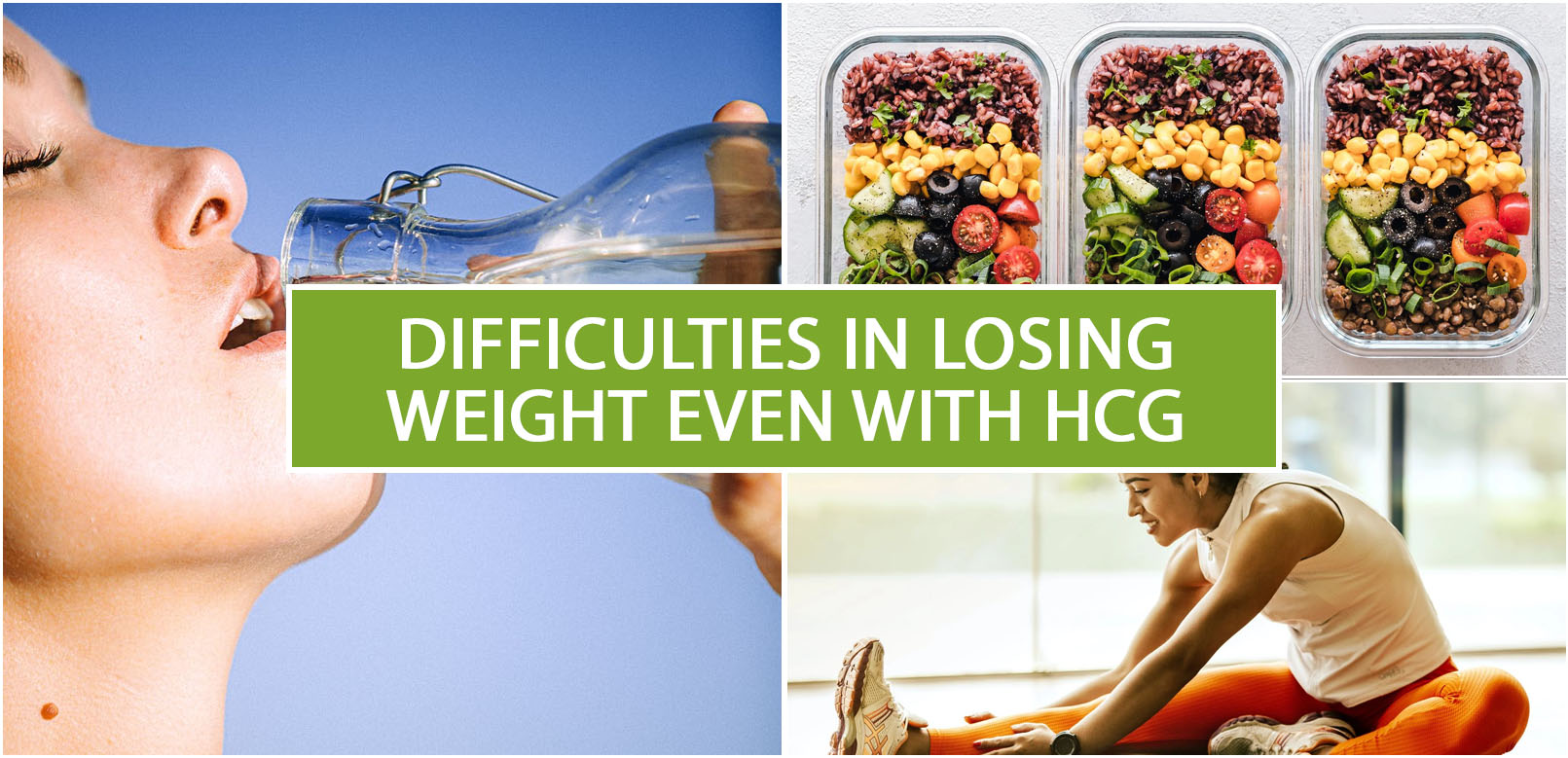 DIFFICULTIES IN LOSING WEIGHT EVEN WITH HCG