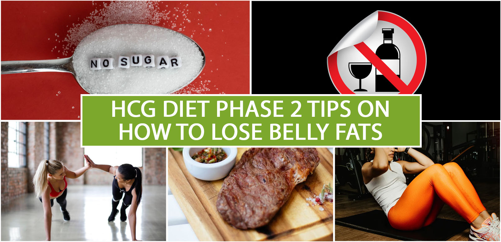 HCG DIET PHASE 2 TIPS ON HOW TO LOSE BELLY FATS