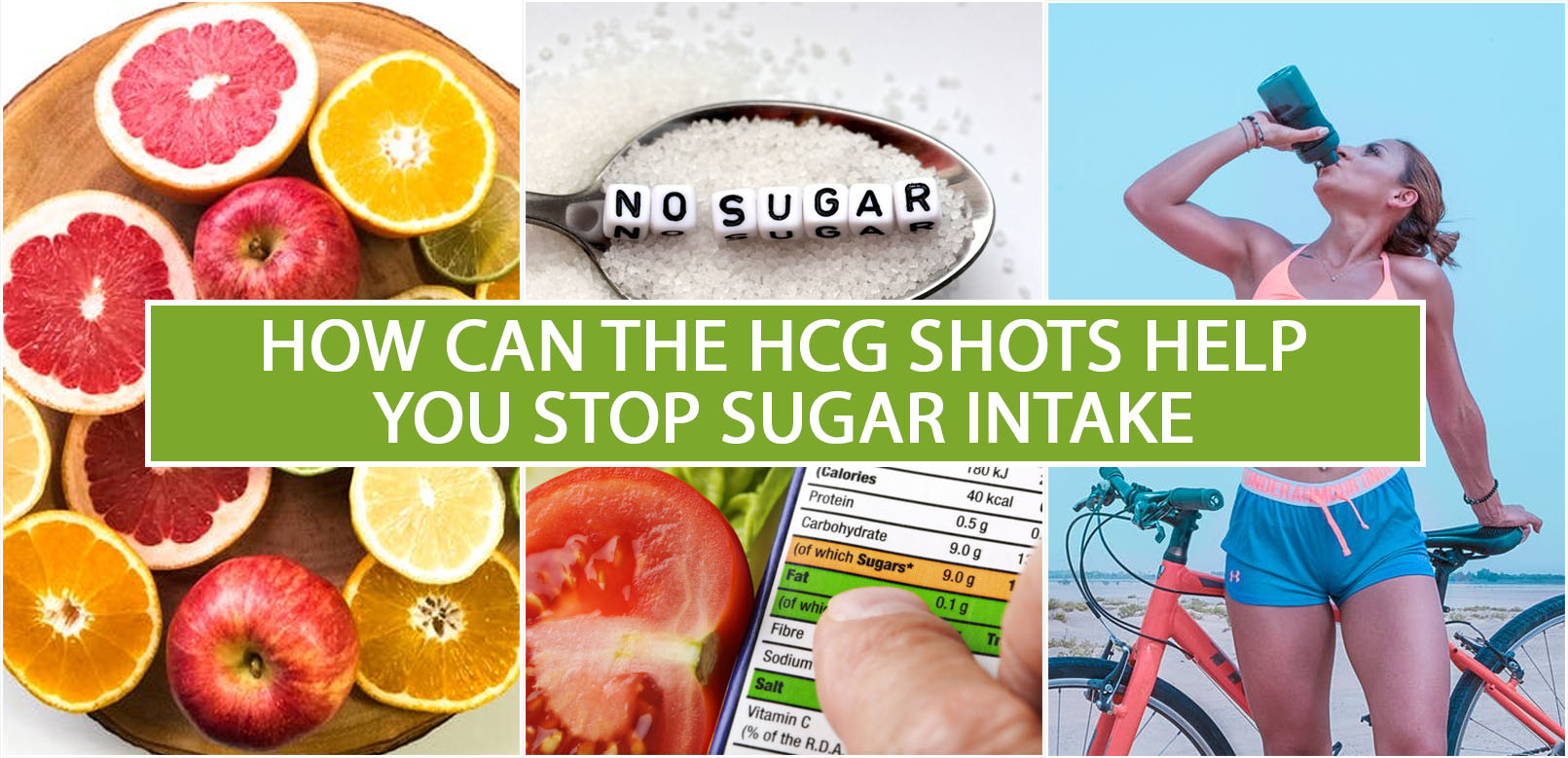 HOW CAN THE HCG SHOTS HELP YOU STOP SUGAR INTAKE