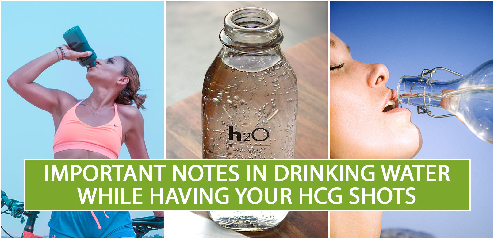 IMPORTANT NOTES IN DRINKING WATER WHILE HAVING YOUR HCG SHOTS