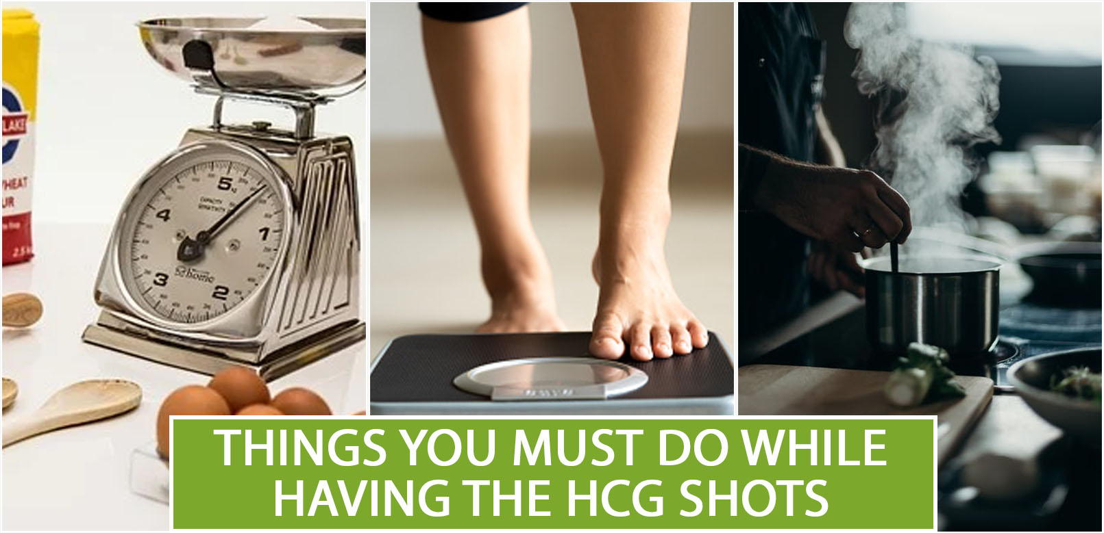 THINGS YOU MUST DO WHILE HAVING THE HCG SHOTS