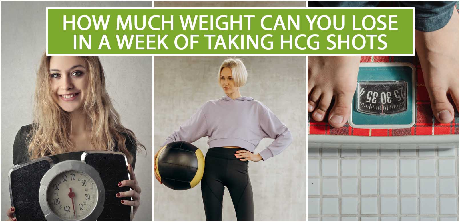 HOW MUCH WEIGHT CAN YOU LOSE IN A WEEK OF TAKING HCG SHOTS