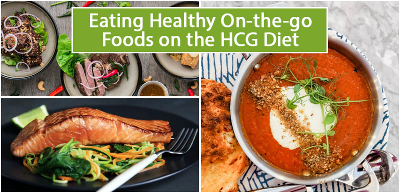 Eating Healthy On-the-go Foods on the HCG Diet