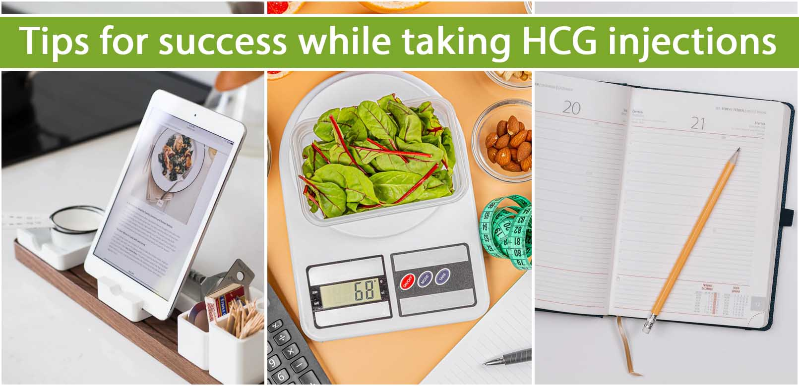 Tips for success while taking HCG injections