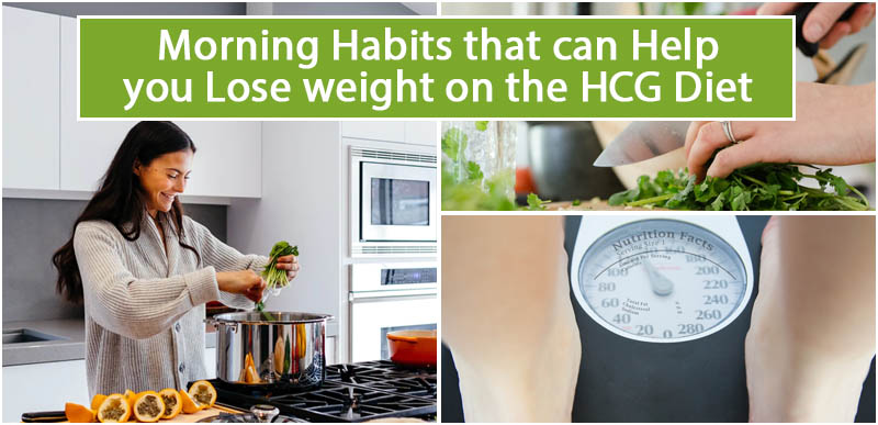 Morning Habits that can Help you Lose weight on the HCG Diet