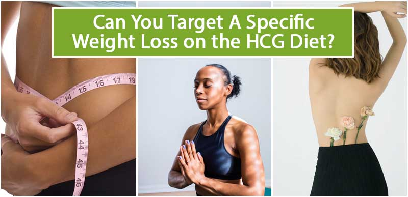 Can You Target A Specific Weight Loss on the HCG Diet