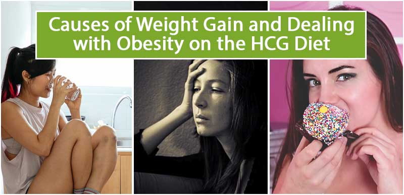 Causes of Weight Gain and Dealing with Obesity on the HCG Diet
